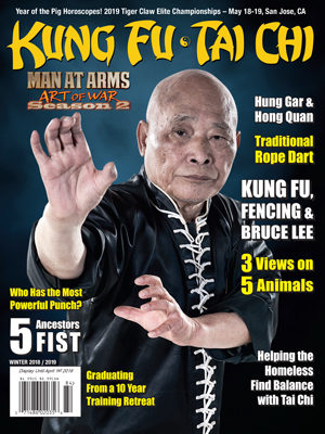 KUNG FU TAI CHI magazine - Winter 2019