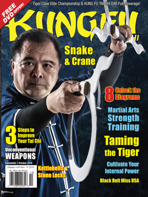 Kung Fu Tai Chi Magazine September + October 2014
