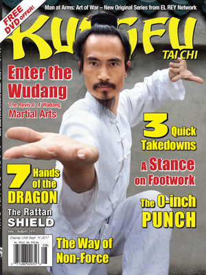 Kung Fu Tai Chi magazine July + August 2017