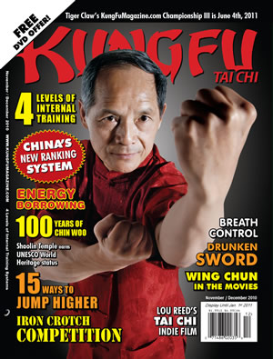 Kung Fu Tai Chi Magazine November + December 2010