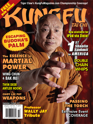 Kung Fu Tai Chi Magazine September + October 2011