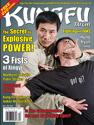 Kung Fu Tai Chi Magazine November + December 2013