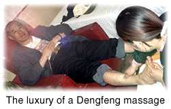 The luxury of a Dengfeng massage