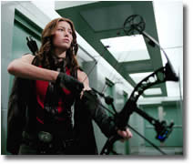 Abigail (Jessica Biel)'s custom compound bow.