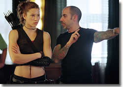 Goyer adds: Jessica was an absolute natural when it came tofight choreography.