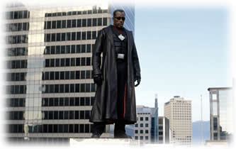 There is no doubt in anyone's mind that Wesley Snipes is the quintessential Blad