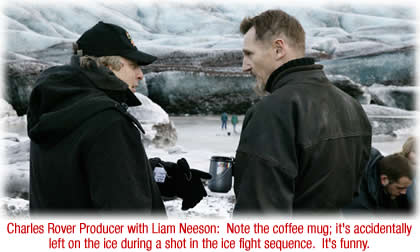 Charles Rover Producer with Liam Neeson