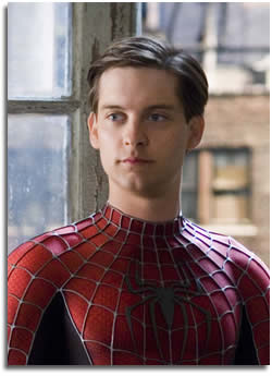 Toby Maquire as Spiderman/Peter Parker