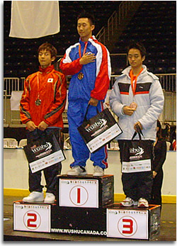 Gold Medalist Alfred Hsing