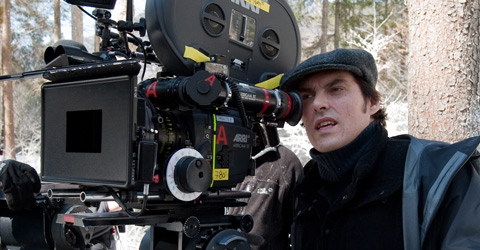 HANNA Director Joe Wright on location