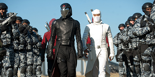 Cobra Comander and Storm Shadow