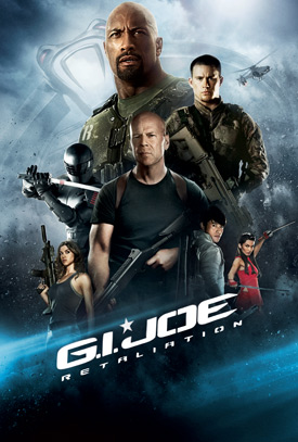 G.I. JOE RETALIATION movie poster