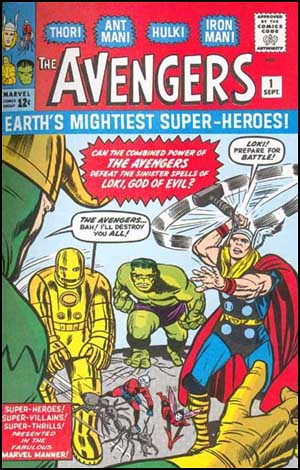 THE AVENGERS issue 1 published in 1963