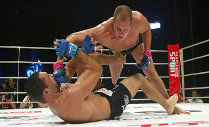 Fedor Emelianenko in action
