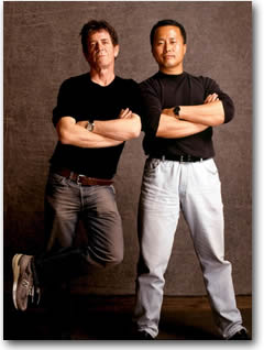 Lou Reed and Master Ren Guang-Yi