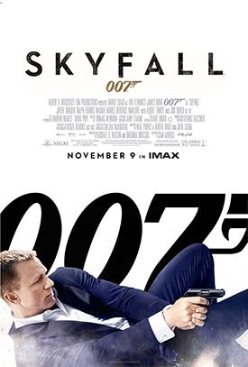 007 SKYFALL movie poster