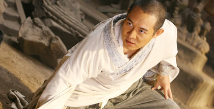 Jet Li in Forbidden Kingdom