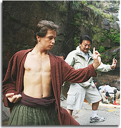 Michael Angarano; Kung Fu student in Forbidden Kingdom