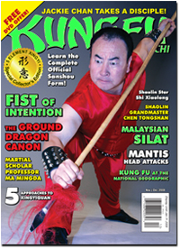 Kung Fu Tai Chi Magazine November/December 2008