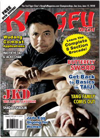 Kung Fu Tai Chi Magazine November/December 2009