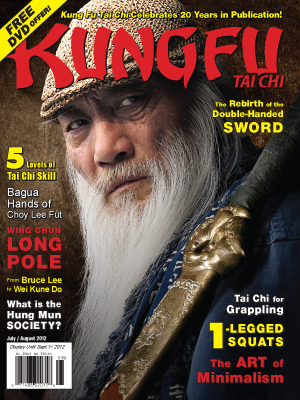 Kung Fu Tai Chi Magazine July/August 2012