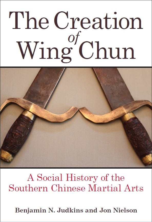 The Creation of Wing Chun, book cover.