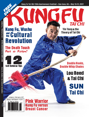 Kung Fu Tai Chi magazine - January + February 2017