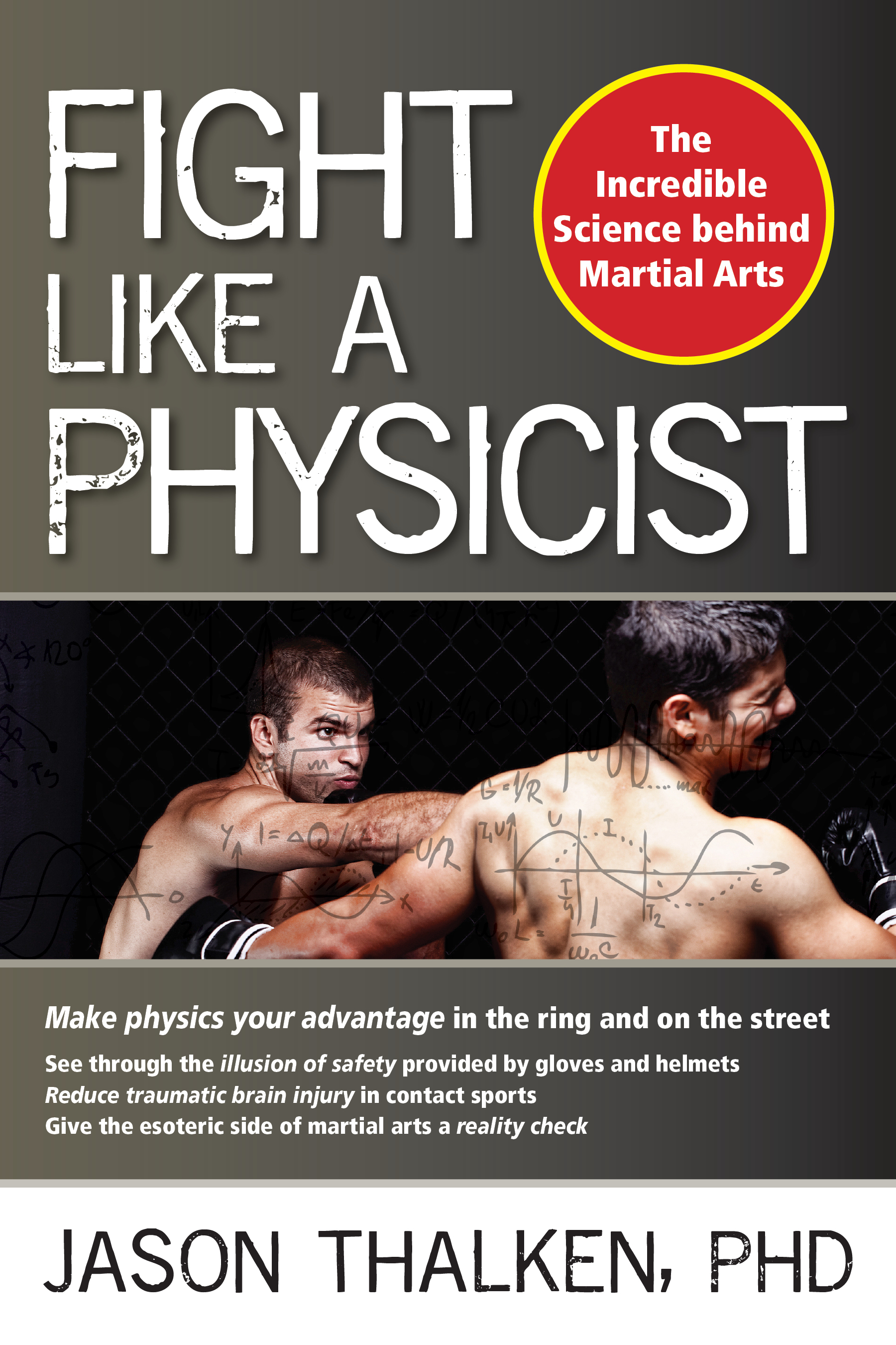 Fight Like A Physicist: Book Cover