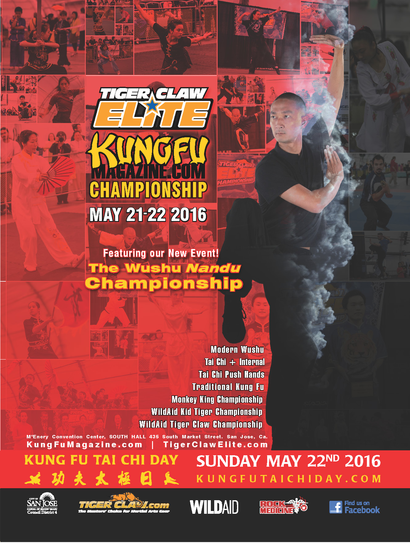 The Tiger Claw Elite KungFuMagazine.com Championship's first ever NANDU division