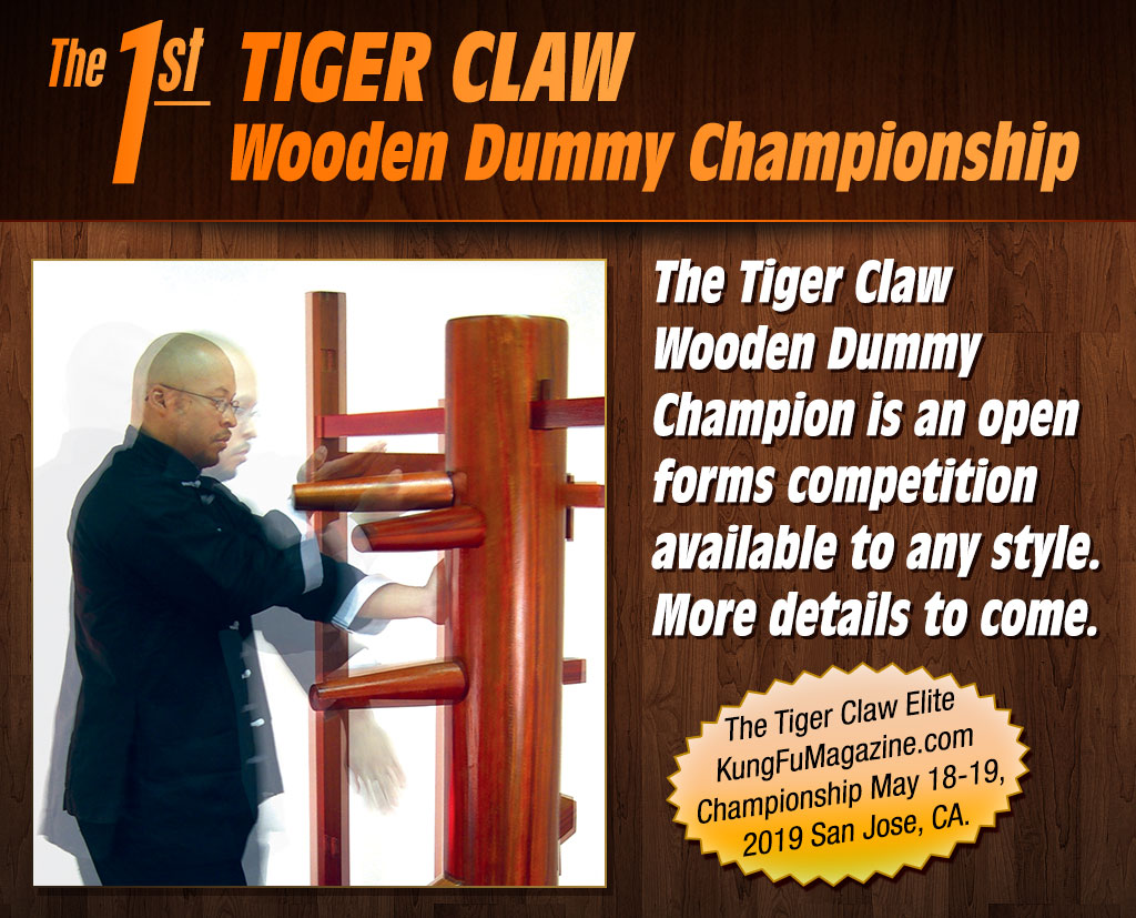 The 1st Tiger Claw Wooden Dummy Championship