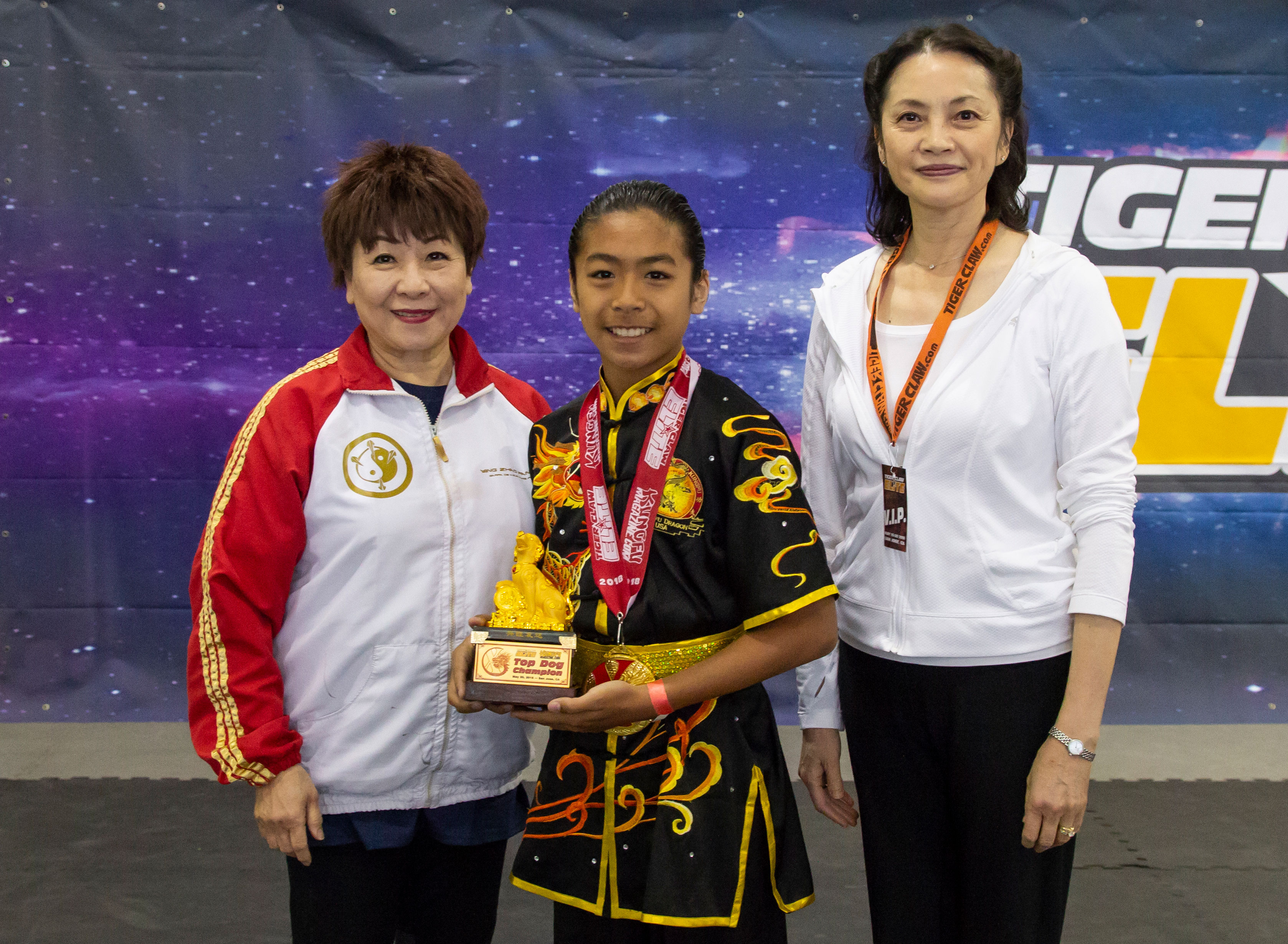 L-R: Grandmaster Lily Lau, & Master grace Wu-Monnat