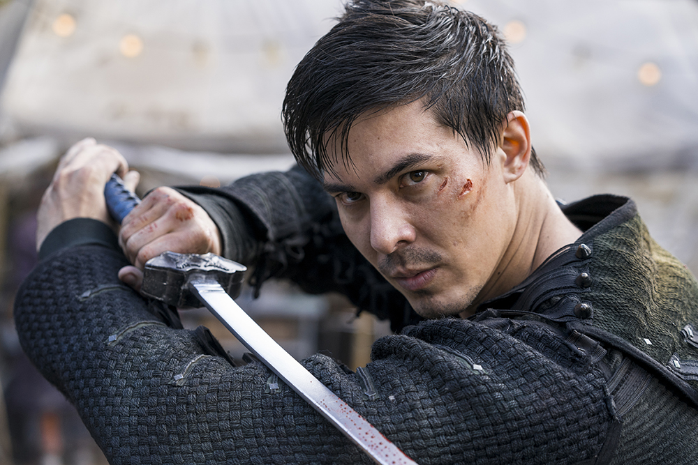 Lewis Tan appearing in Into The Badlands