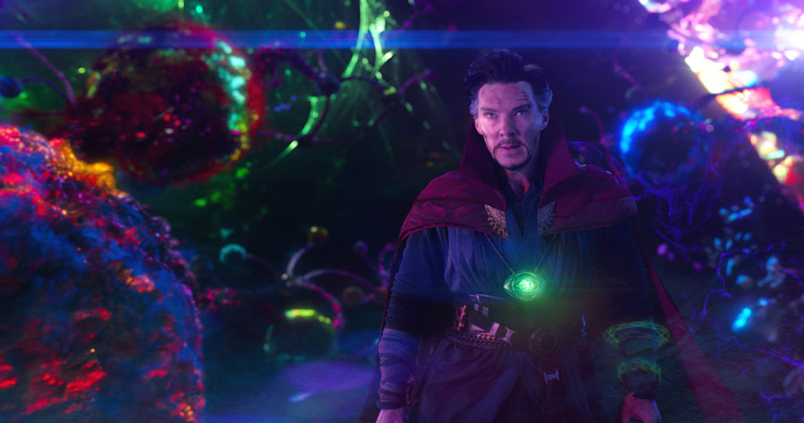 The trippy visuals of Doctor Strange