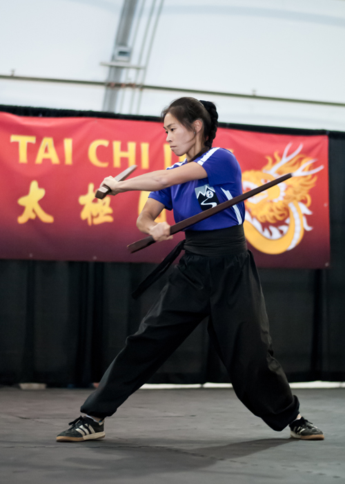 2015 Tiger Claw Elite Championship Advanced Women's Kung Fu Grand Champion Michelle Lin