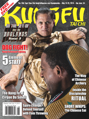 May+June 2018 Kung Fu Tai Chi magazine