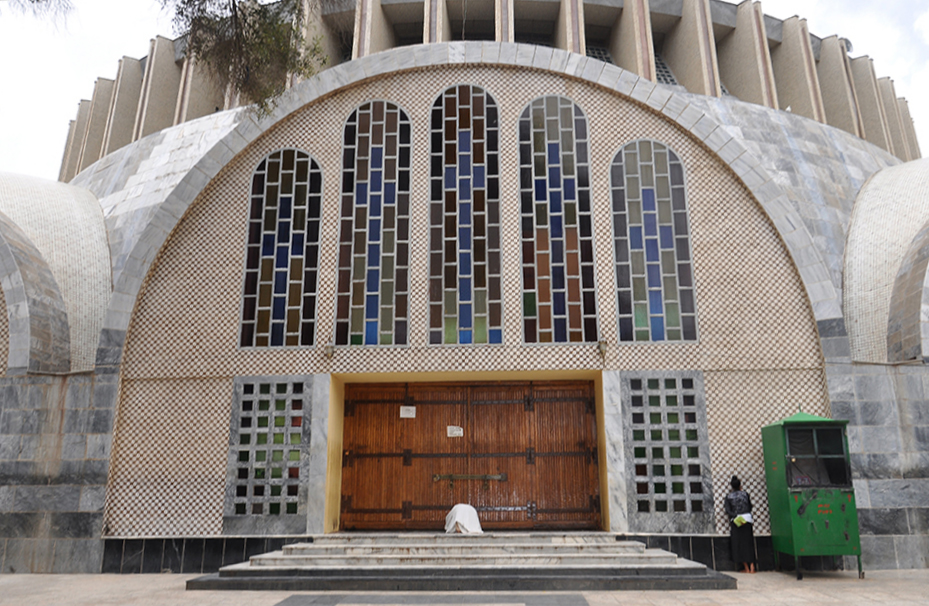 Church of Our Lady Mary of Zion in Axum