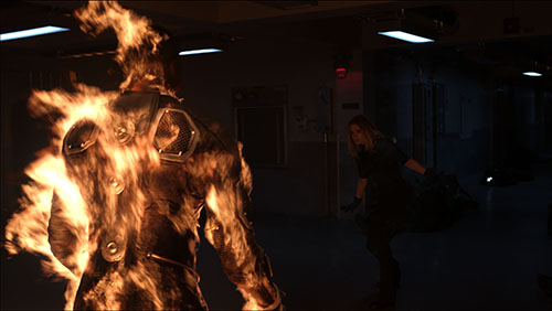 Human Torch in THe Fantastic Four 2015