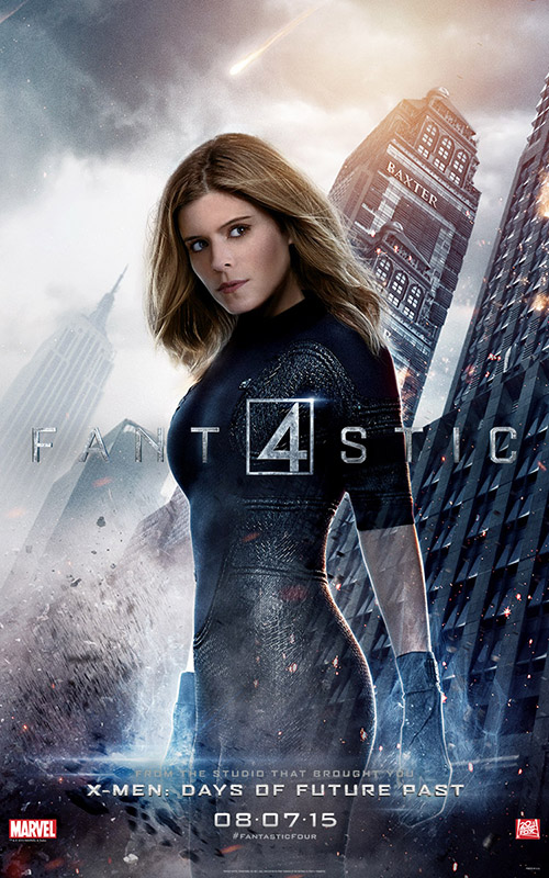 Fantastic Four 2015 Movie Poster: Invisible Woman